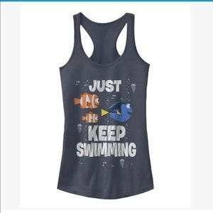 "Finding Nemo ""Just Keep Swimming"" Tank Top"